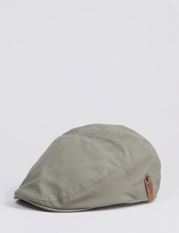Bailey Graham Waterproof Ivy Flat Cap - Olive