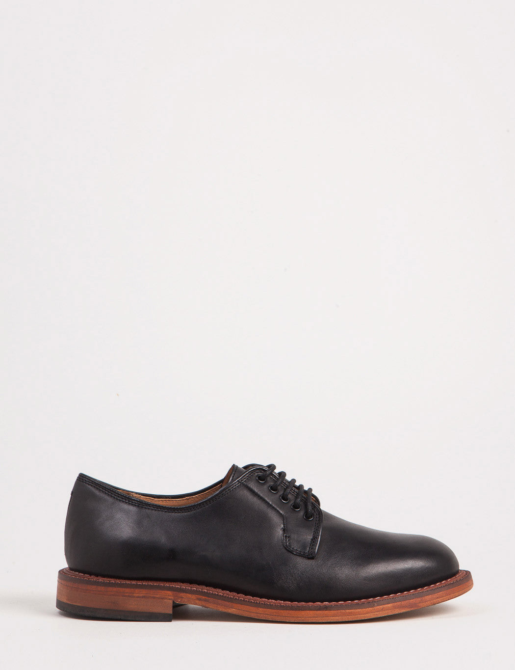 Hudson Daines Leather Shoes - Black