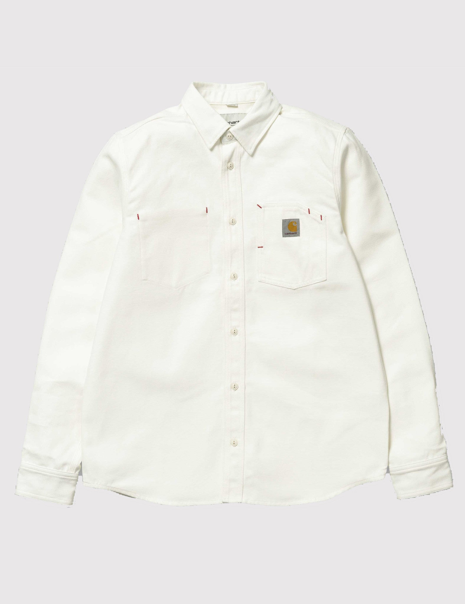 Carhartt Tony Shirt (Rigid) - Snow White