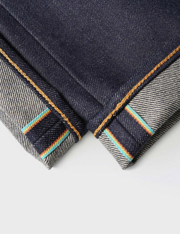 Edwin ED-80 63 Rainbow 12.8oz Selvage Jeans - Unwashed