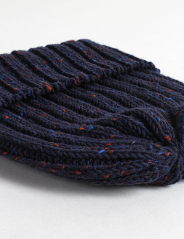 Highland 2000 Donegal Beanie Hat - Navy