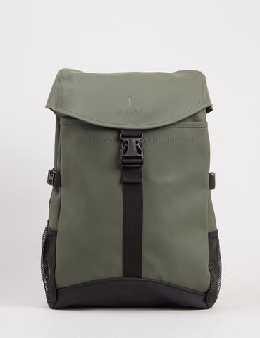 Rains Runner Backpack - Olive Green