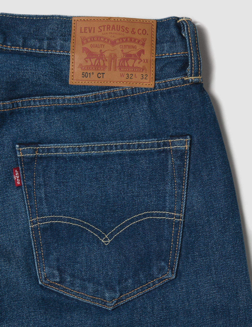 Levis 501 CT Customised Tapered Fit Jeans - Dalston