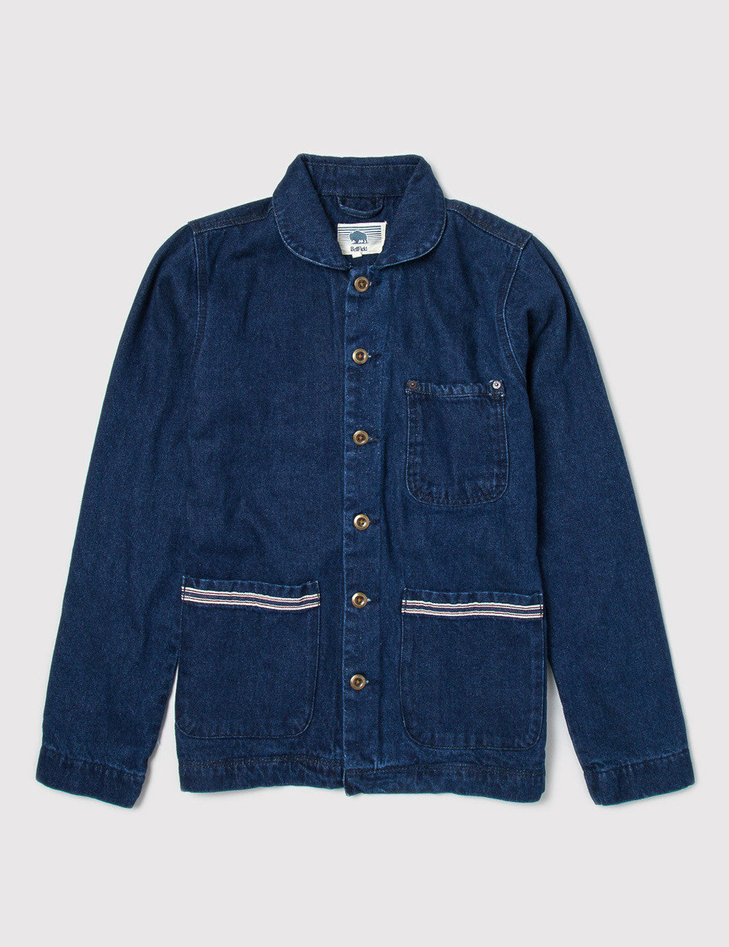 Bellfield Worker Denim Jacket - Indigo