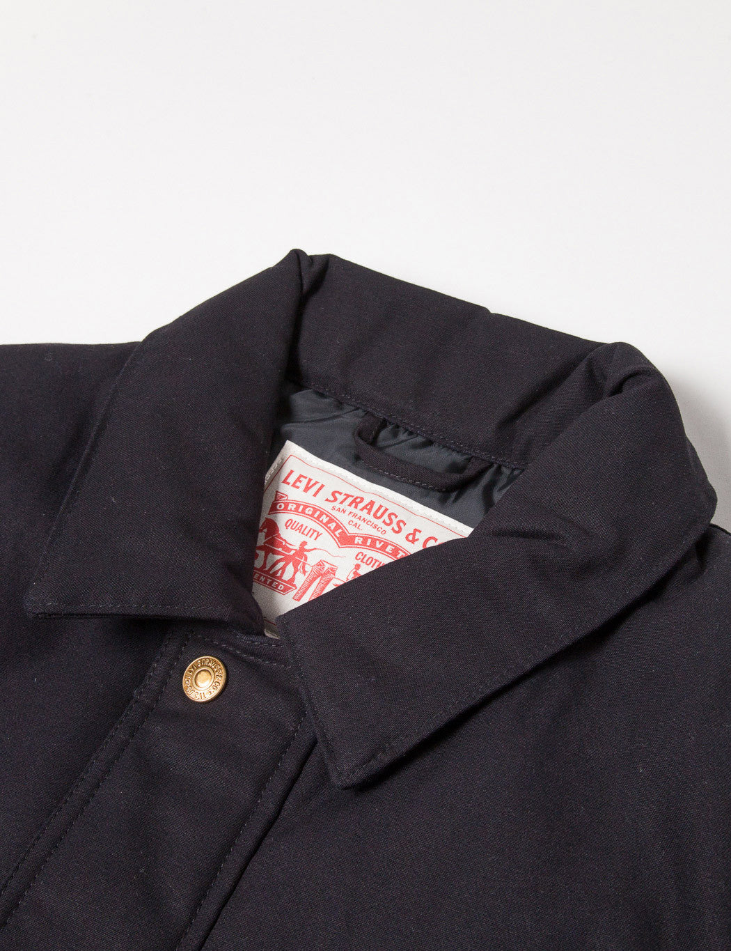 Levis Insulated Utility Jacket - Black