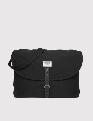 Sandqvist Jack Ground Messenger Bag - Black