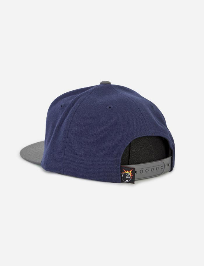 The Hundreds Swish Snapback Cap - Navy Blue