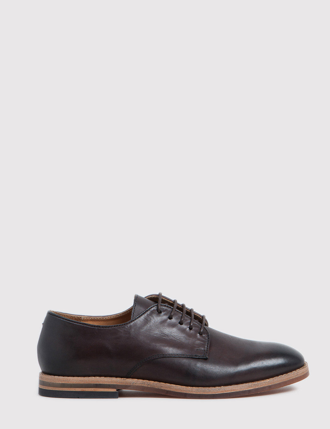 Hudson Hadstone Calf Leather Shoes - Brown ... 7a8aa80e8