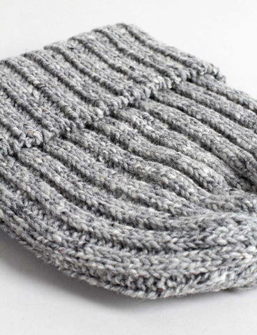 Highland 2000 Donegal Beanie Hat - Heather Grey