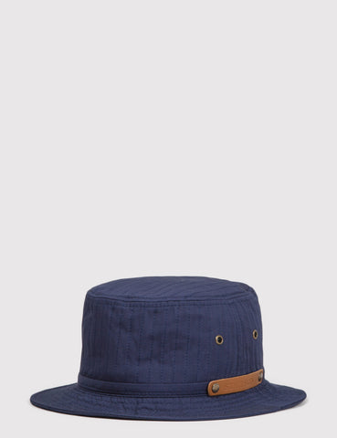 Stetson Mason Cotton Bucket Hat - Navy