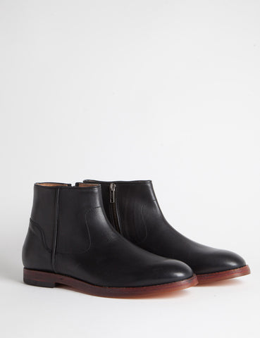 Hudson Hobart Calf Leather Boots - Black