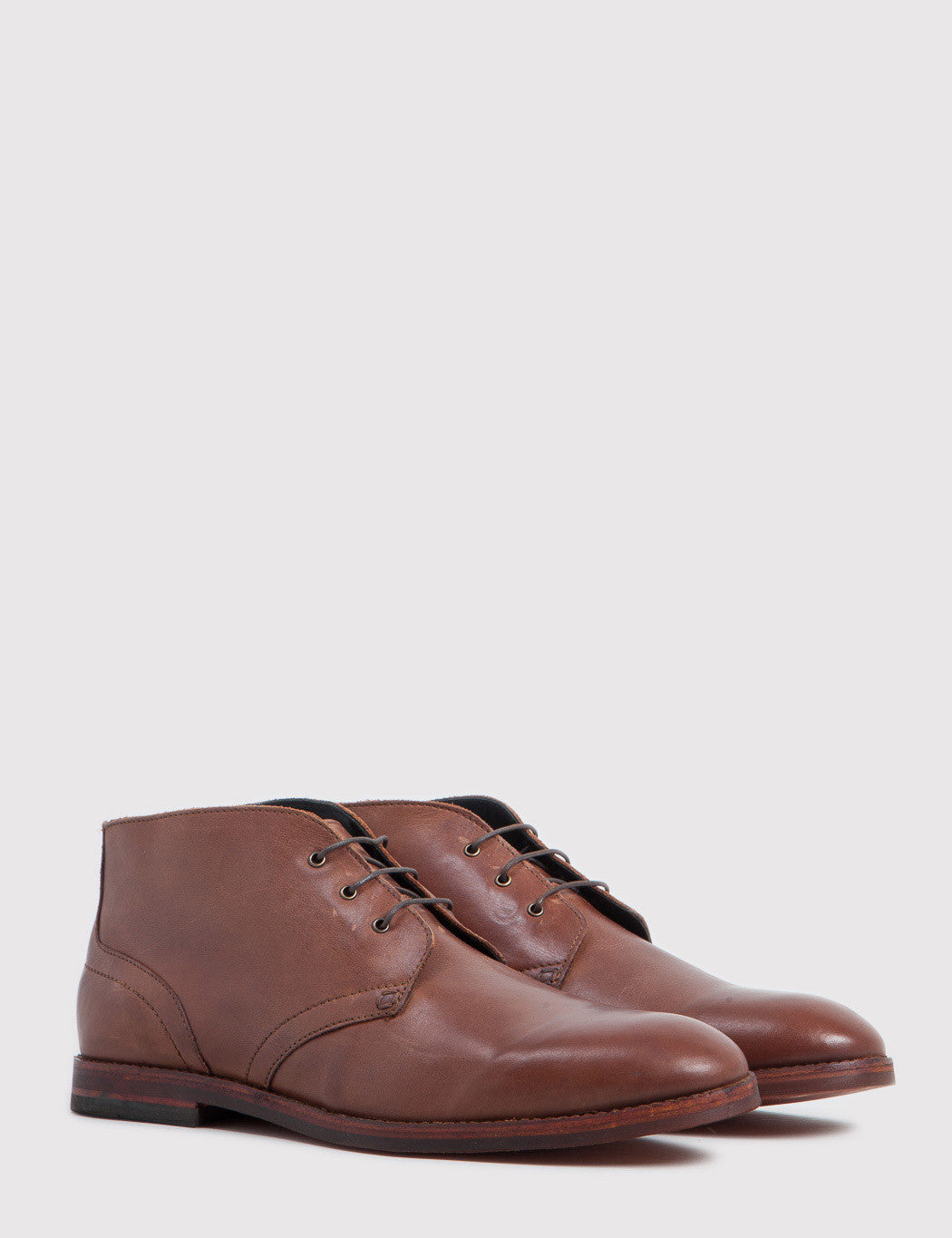 Hudson Houghton 2 Calf Leather Chukka Boots - Tan