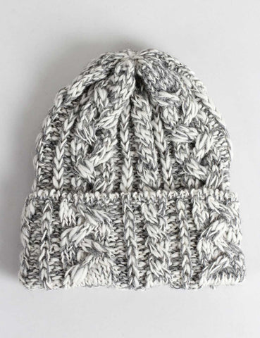 Highland 2000 Slub Beanie Hat - Grey