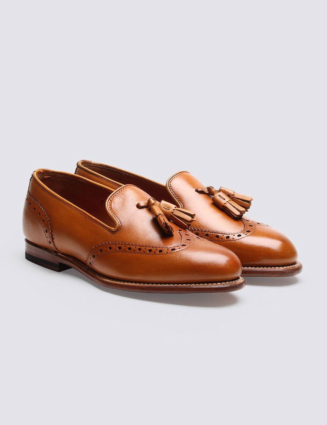 Womens Grenson Katie Tassel Loafer - Tan