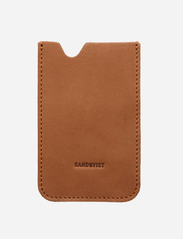 Sandqvist Orvar iPhone 4/4S Leather Sleeve -  Cognac Brown