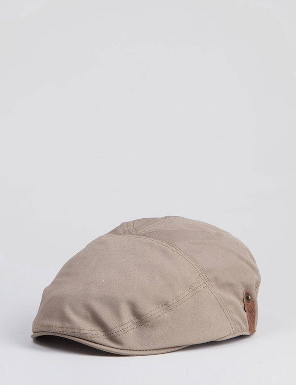 Bailey Graham Waterproof Ivy Flat Cap - Tan