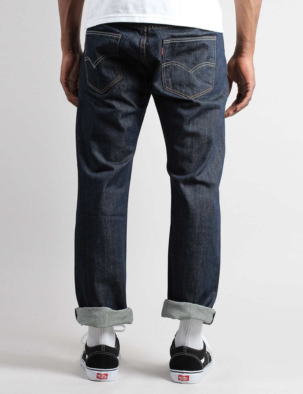 Levis 501 Original Fit Jeans - Marlon Dark Blue