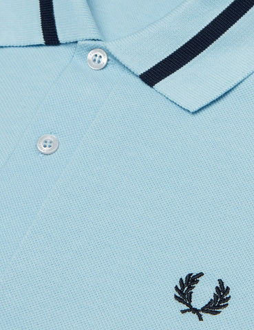 Fred Perry Single Tipped Polo Shirt - Ice Blue