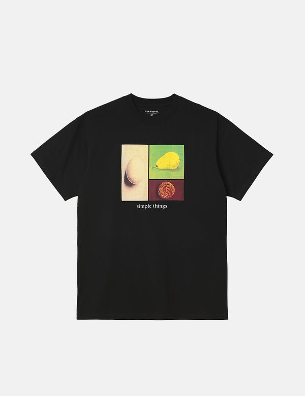 T-Shirt Carhartt-WIP Simple Things - Noir