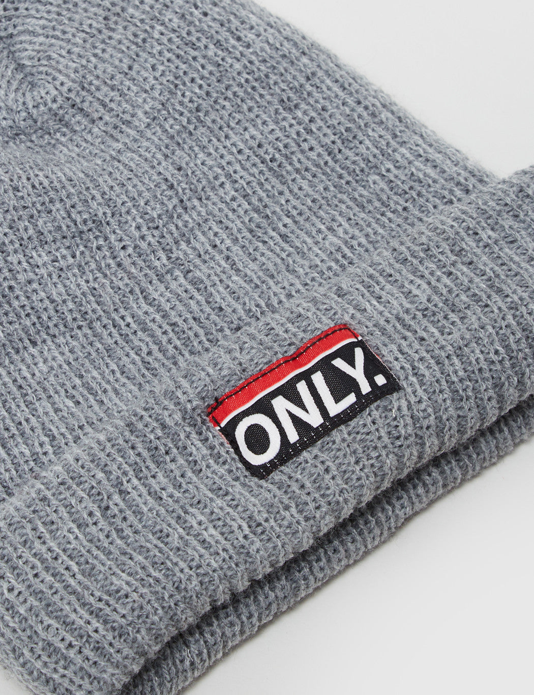 Only NY Subway Beanie Hat - Heather Grey