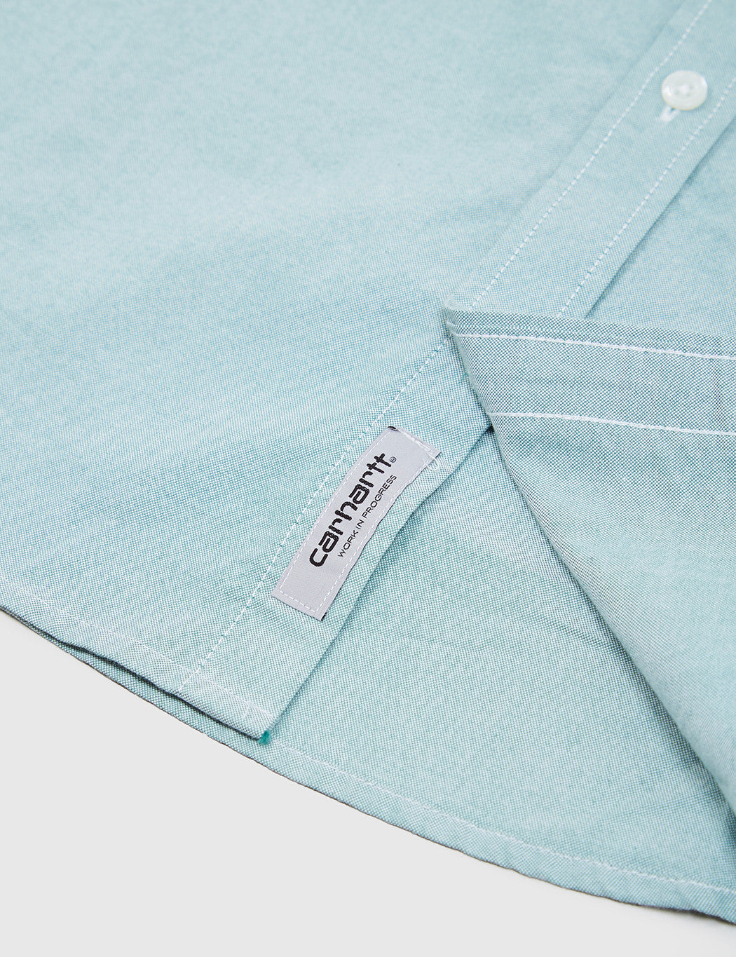 Carhartt Button Down Pocket Shirt - Mojito Green