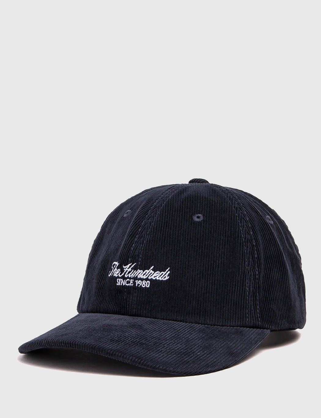The Hundreds Plain Cord Dad Cap - Navy