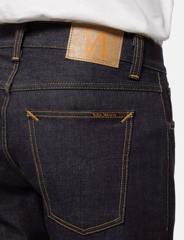 Nudie Gritty Jackson Jean (Regular) - Dry Classic Navy