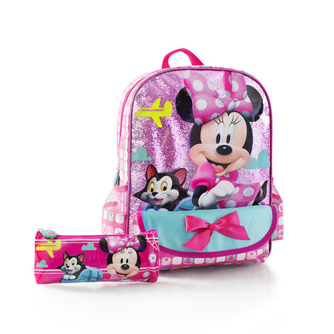 Disney Backpack with Pencil Case - Minnie (D-BP-MN18-14FA)