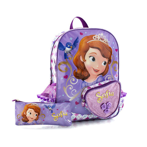 Disney Backpack with Pencil Case - Sofia (D-BP-S05-14FA)