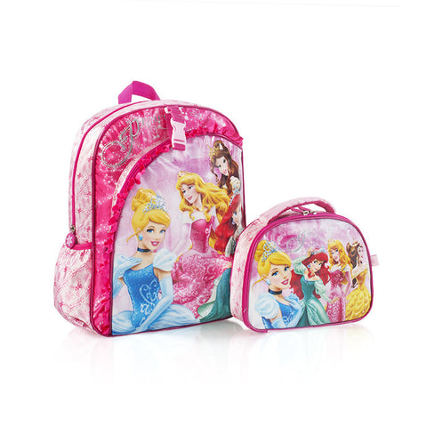 Disney Backpack with Lunch Bag - Princess (D-ST-P03-14FA)