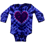 Long Sleeve Onesie #10, Purple