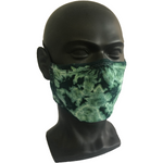 Cosmic Crinkle Face Masks - Green