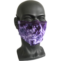 Cosmic Crinkle Face Masks - Purple
