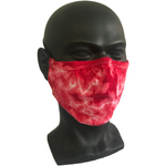 Cosmic Crinkle Face Masks - Red