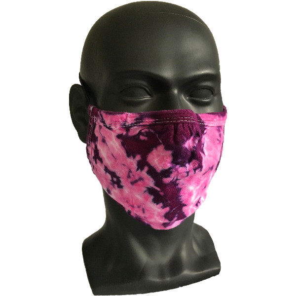 Cosmic Crinkle Face Masks - Fuchsia Purple