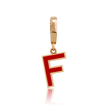 Load image into Gallery viewer, LETTER MANIA ENAMEL CHARMS