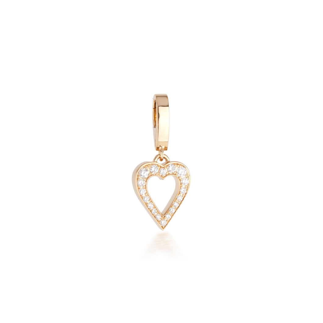 THE AMOR CHARM IN DIAMONDS