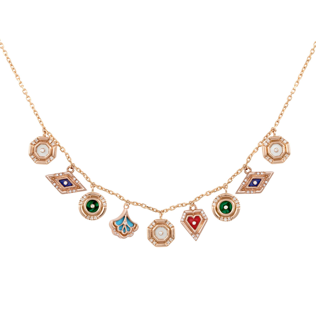 Multi Charm Necklace