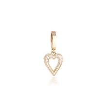 Load image into Gallery viewer, THE AMOR CHARM IN DIAMONDS