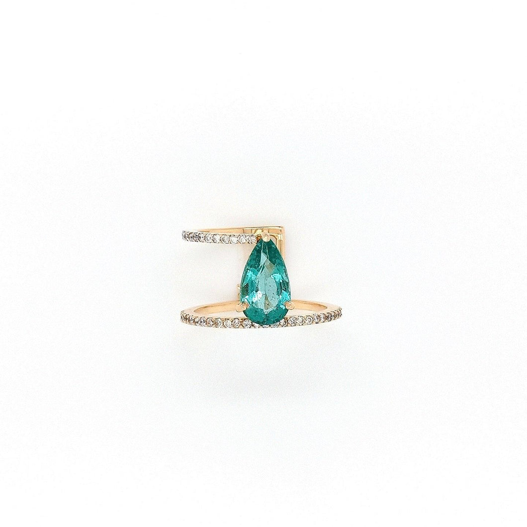 Love Ring - Emerald