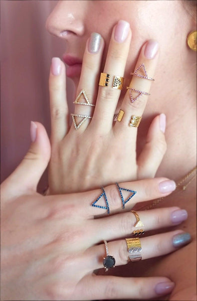 Hama Pyramid Rings
