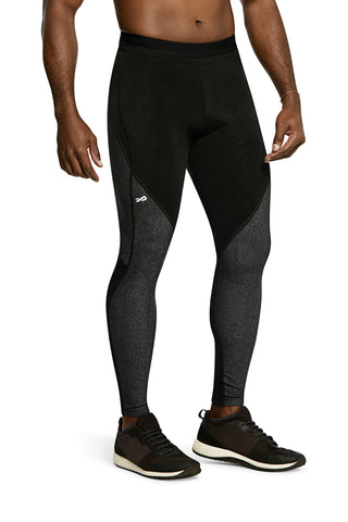 Pro Resistance Tights for Men (Grey/Black)