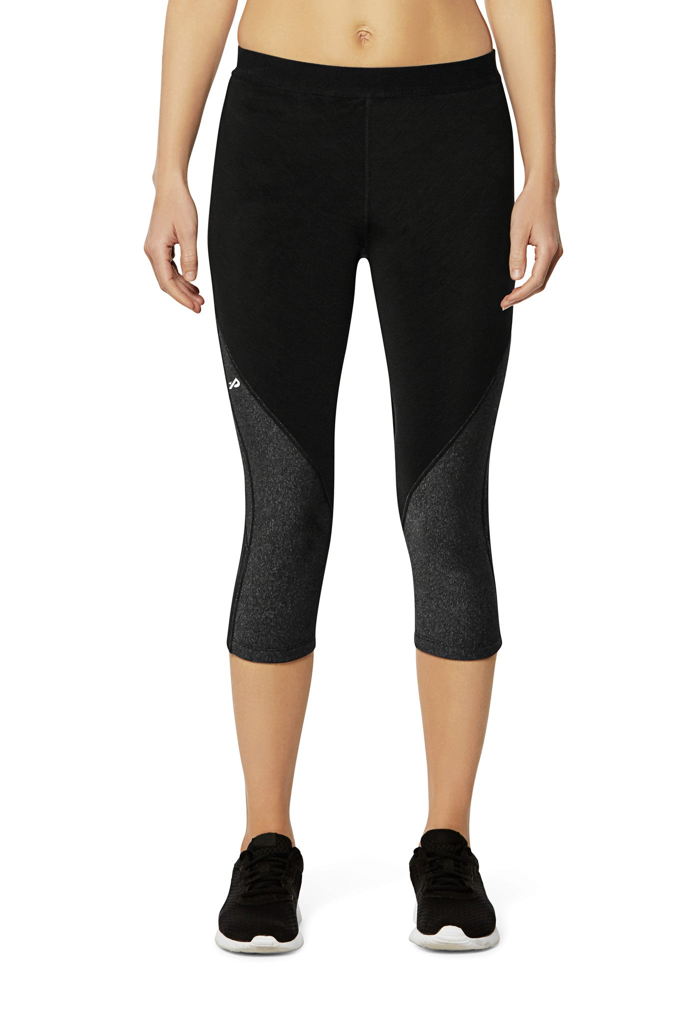 Pro Resistance Capris for Women - Athletic Grey