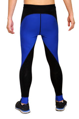 Pro Resistance Tights for Men - Navy Blue