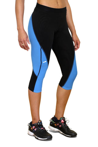 Pro Resistance Capris for Women - Olympic Blue