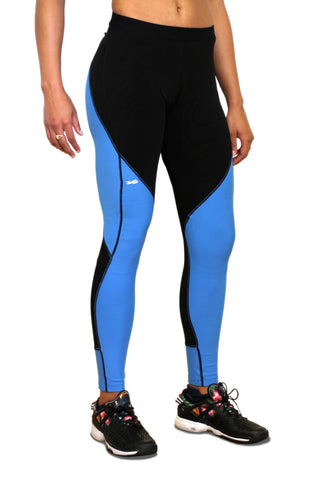 Pro Resistance Tights for Women - Olympic Blue
