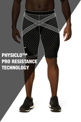 Pro Resistance Shorts for Men (Grey/Black)