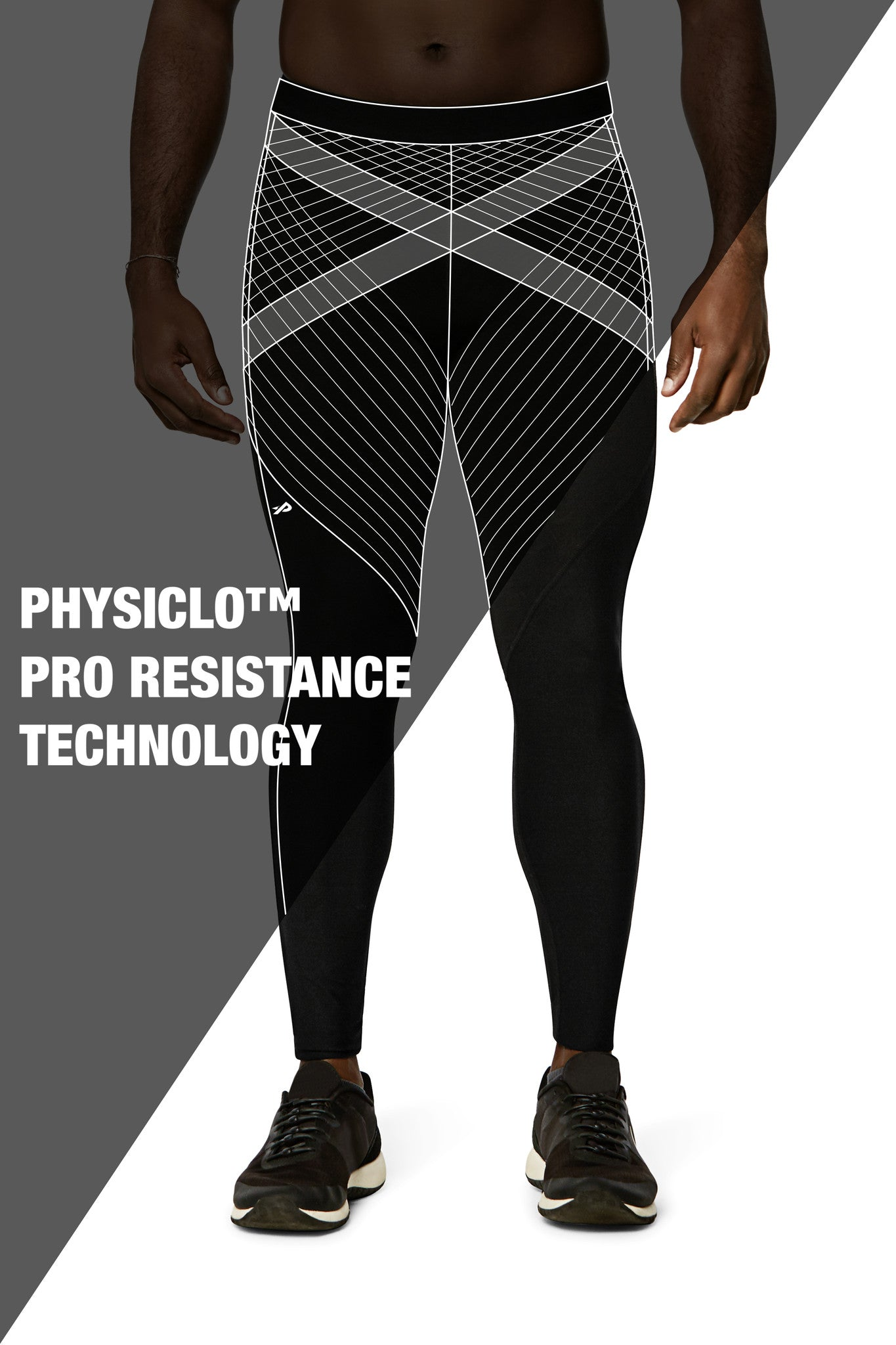 Pro Resistance Tights for Men - Black