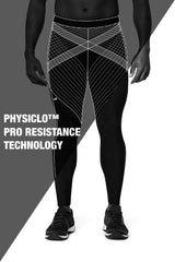 Pro Resistance Tights for Men - Olympic Blue