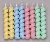 Twister Candles - Pastel Colors